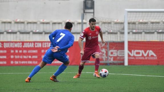 El Racing Murcia se lleva los tres puntos ante el Águilas (1-0)