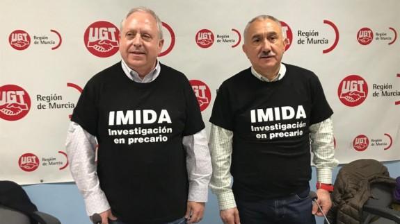 Antonio Jiménez y Pepe Álvarez (foto: ORM)
