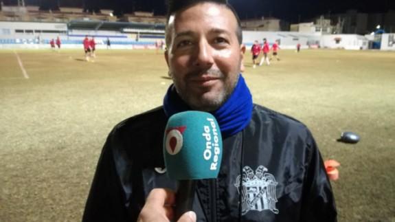 Gaspar Campillo, director deportivo del Águilas FC