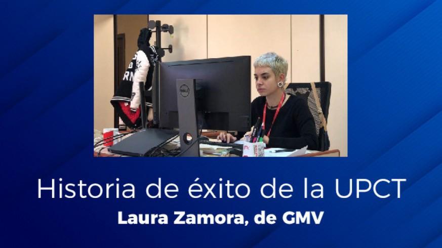 EL MIRADOR. Historia de éxito de la UPCT: Laura Zamora
