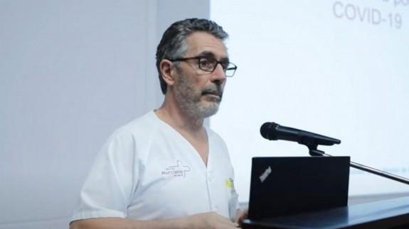 Alberto Torres, Jefe de Medicina Preventiva de La Arrixaca.