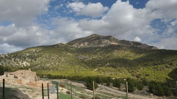 Imagen del pico de La Selva en la Sierra de Ponce