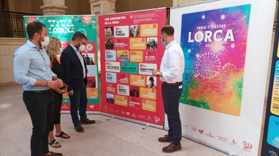Presentación de la Feria de Lorca. ALFONSO MARTÍNEZ