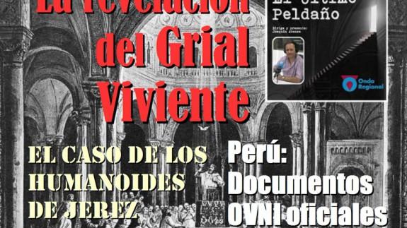 El último peldaño: los humanoides de Jerez, el Grial viviente y secretos OVNI y desclasificación en Perú