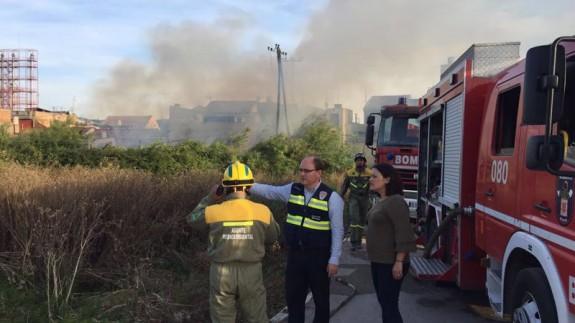 Incendio en La Arboleja