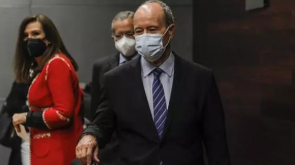 Juan Carlos Campo, ministro de Justicia