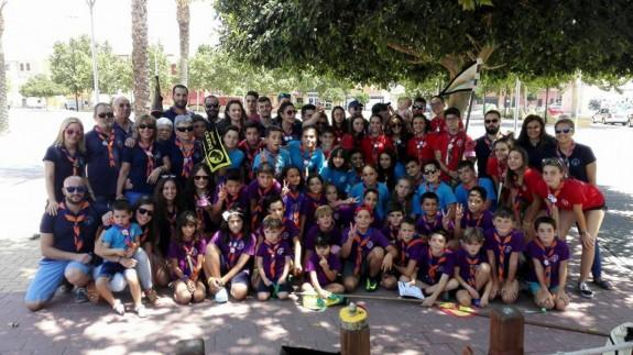 EL MIRADOR. El grupo scout del Balate de Mula cumple 45 años y lo celebra este fin de semana
