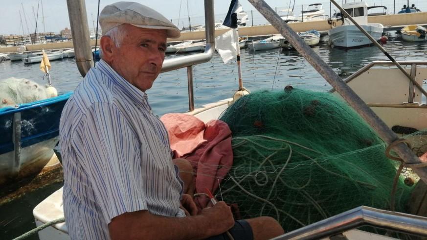 Bibiano, pescador de cuatro generaciones de San Pedro del Pinatar