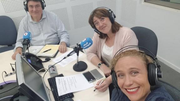Miriam López y Mateo Párraga en Onda Regional