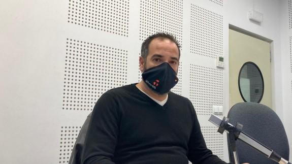Rafael Llor en nuestros estudios.