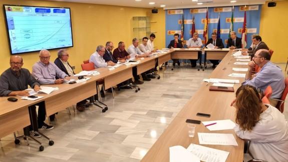 Reunión de la comisión de desembalse