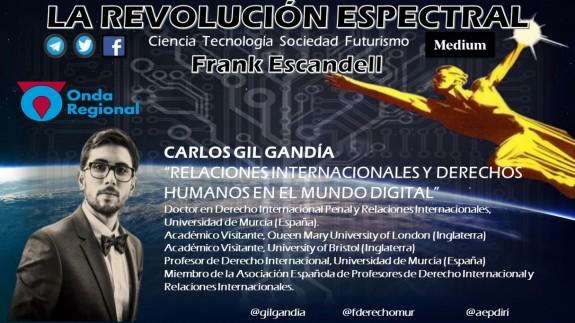 LA REVOLUCIÓN ESPECTRAL T02C011 Relaciones Internacionales y Derechos Humanos en el mundo digital