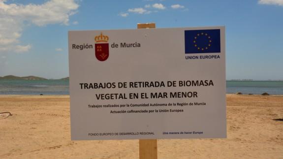 SOS Mar Menor denuncia las declaraciones del consejero Luengo contra las políticas europeas de Medio Ambiente