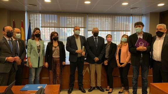 Comparecencia en la Asamblea Regional del alcalde de Totana