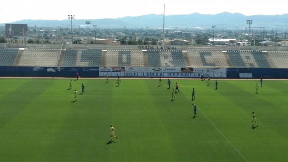 El Lorca empata ante Las Palmas Atlético (2-2)