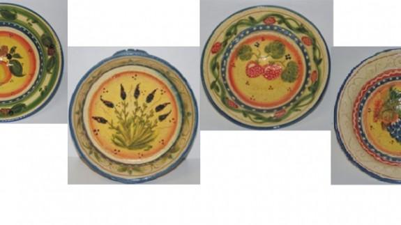 Ejemplo de los trabajos artesanos de Alfarería Lario