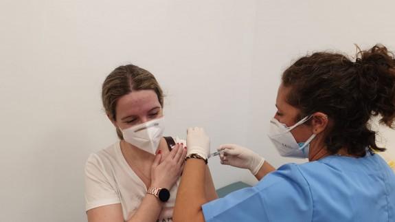 Vacunación de la gripe este lunes