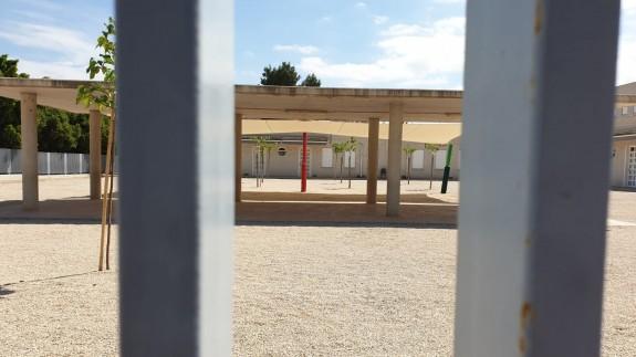 Un colegio de Murcia cerrado por el Estado de Alarma. ORM