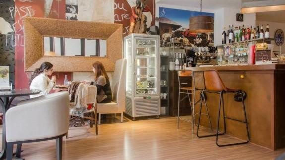 Interior de El Caffeto Vintage (archivo). CAFFETO VINTAGE