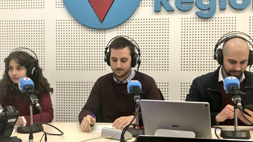 Lola Mateo, Ginés Sánchez y Nicolás Toledo