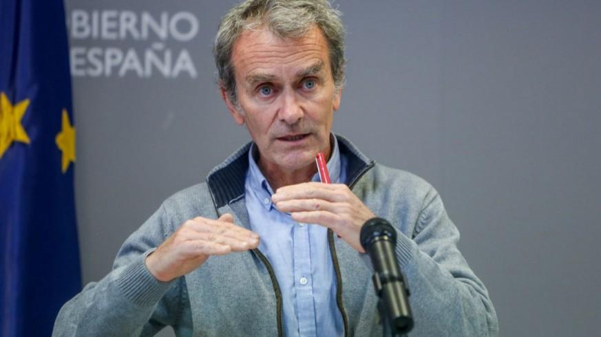 Fernando Simón, tras la reunión del Comité de Gestión Técnica del coronavirus. EP