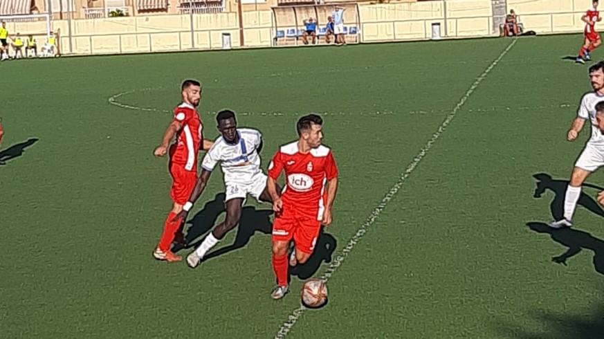 Empate sin goles entre El Palmar y el Caravaca