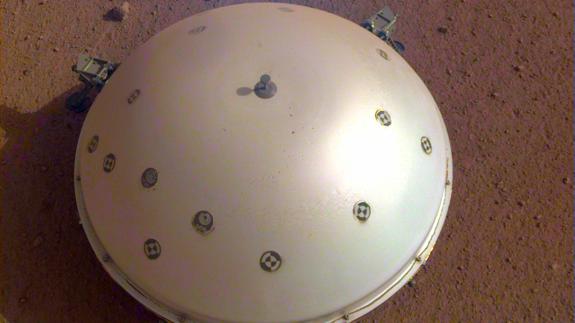"Imagen del ""InSight"" en Marte"