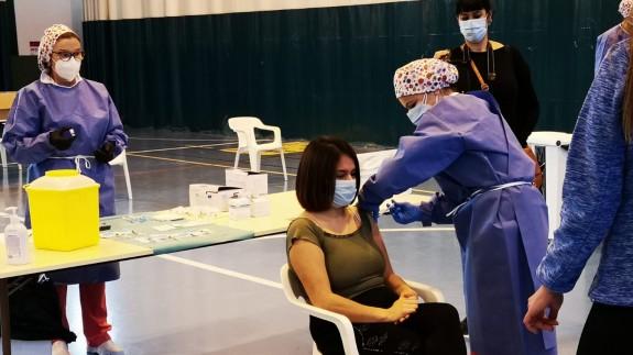 Punto de vacunación masiva