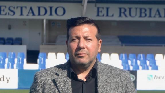 Gaspar Campillo, director deportivo del Águilas