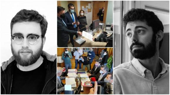 José Miguel Rojo, Luis Romero y presentación de mociones de censura en la Asamblea Regional y el Ayuntamiento de Murcia