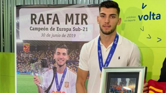 Rafa Mir, reconocido por la Federación Murciana hace unos meses