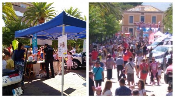 Numerosas personas han participado en la Feria de la Movilidad de Jumilla