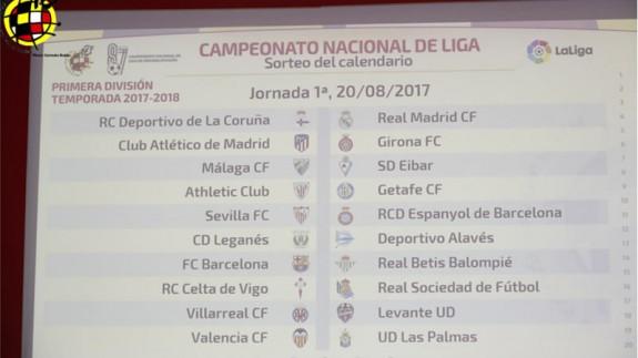 El Real Madrid-Barcelona se jugará el 20 de Diciembre