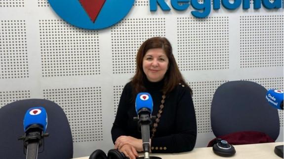 Nieves Martínez Hidalgo en Onda Regional