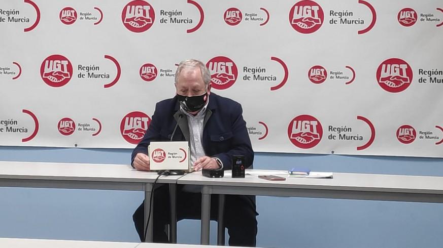 Antonio Jiménez en rueda de prensa