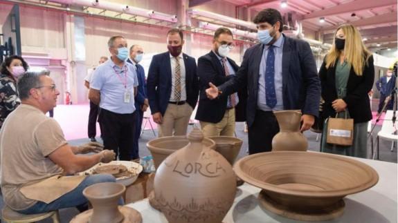 López Miras ha inaugurado la XXXVII edición de Feramur. CARM