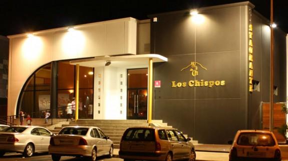 Exterior del restaurante Los Chispos en Yecla