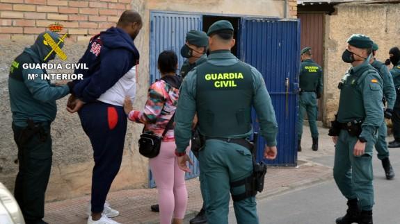 Operación de la Guardia Civil en Las Torres