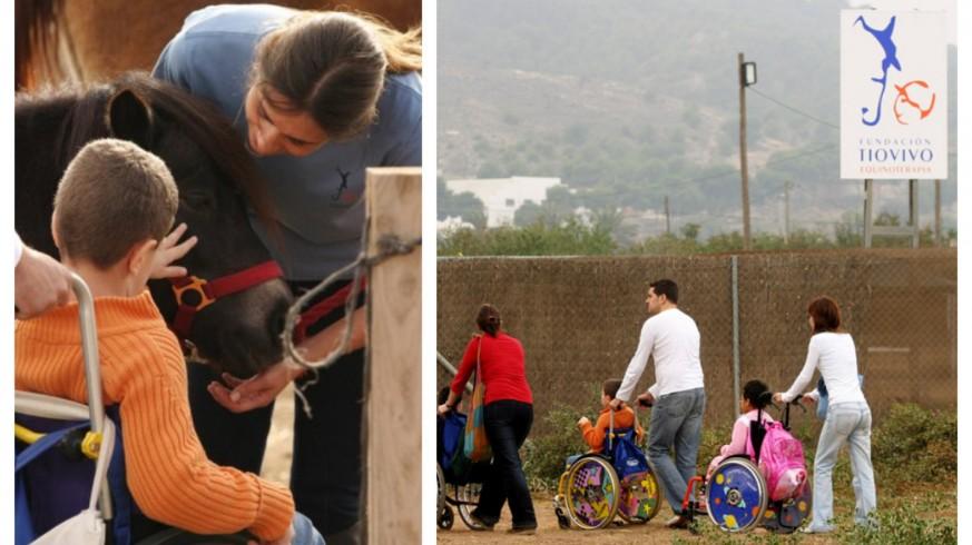 EL ROMPEOLAS. La Fundación Tiovivo no retoma todavía sus terapias con animales