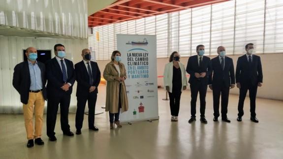 Jornadas 'la nueva ley del cambio climático en el ámbito portuario y marítimo'. ORM