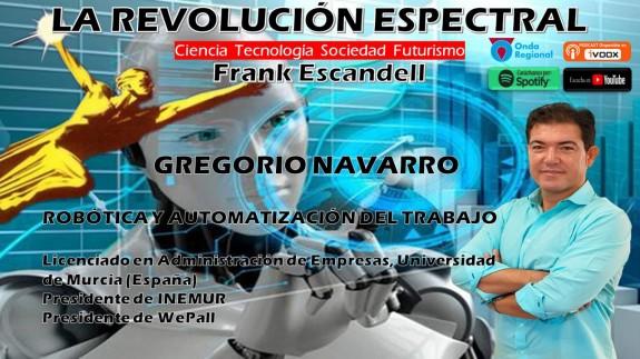Gregorio Navarro en La Revolución Espectral