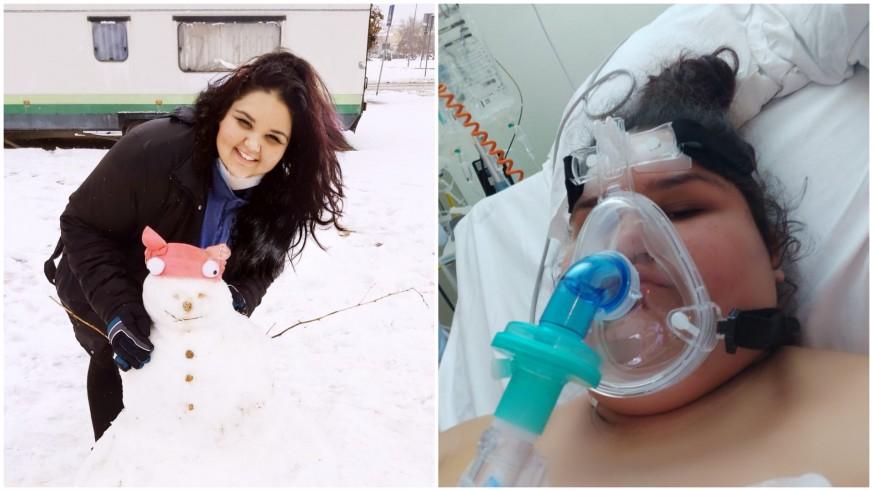 María, antes de su ingreso y durante su estancia en el hospital