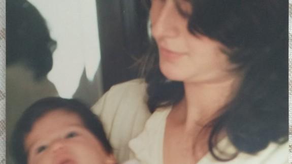 Foto reciente de Miriam Iniesta con su madre