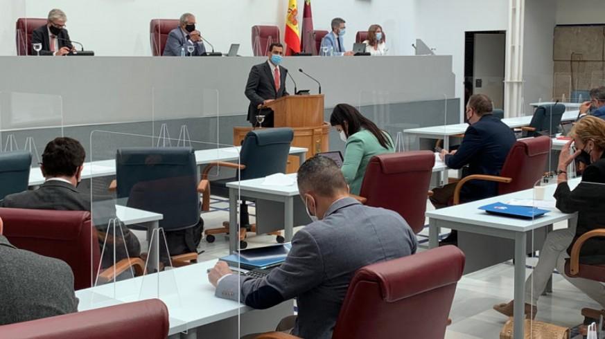 Pleno monográfico sobre inundaciones. Asamblea Regional