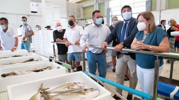 López Miras pide al Gobierno que reconsidere la declaración del zona catastrófica del Mar Menor