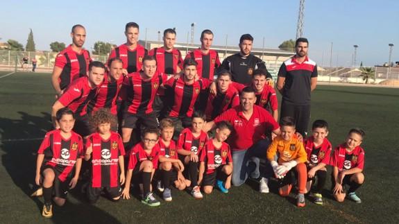 Formación del FC Carmelitano Torreño (foto: ORM)