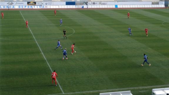 El Lorca Deportiva se congela ante el Linares (0-3)