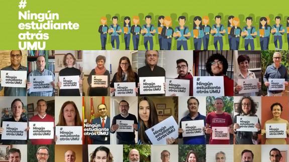 Campaña 'Ningún estudiante atrás' de la UMU