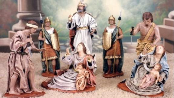 LA ÚLTIMA NOCHE. Belenes Jesús Griñan: una muestra de la artesanía de la Región por todo el mundo