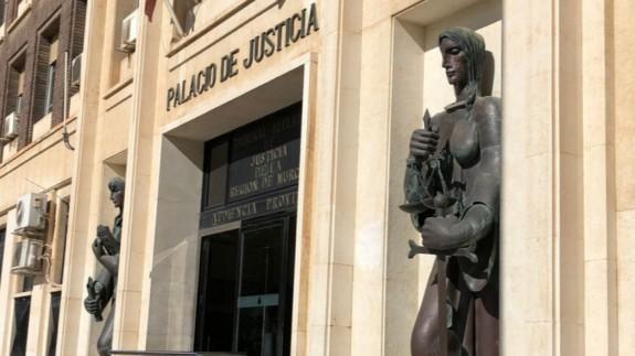 Imagen del palacio de Justicia de Murcia